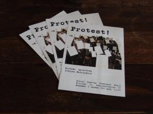 "2016-06-03 Exhibition ""Protest"" in Brzuch, Wroclaw"
